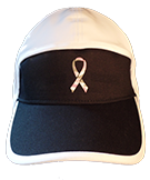 football hat breast cancer camo logo front